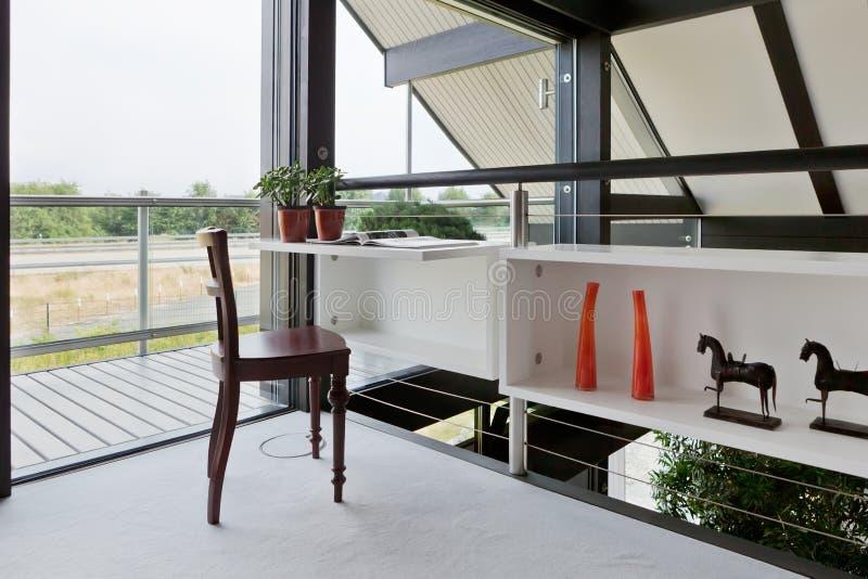 domowy wewnętrzny nowożytny biuro obraz stock