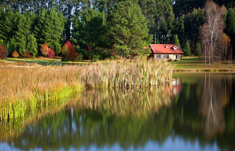 domowy wsi jezioro obrazy royalty free