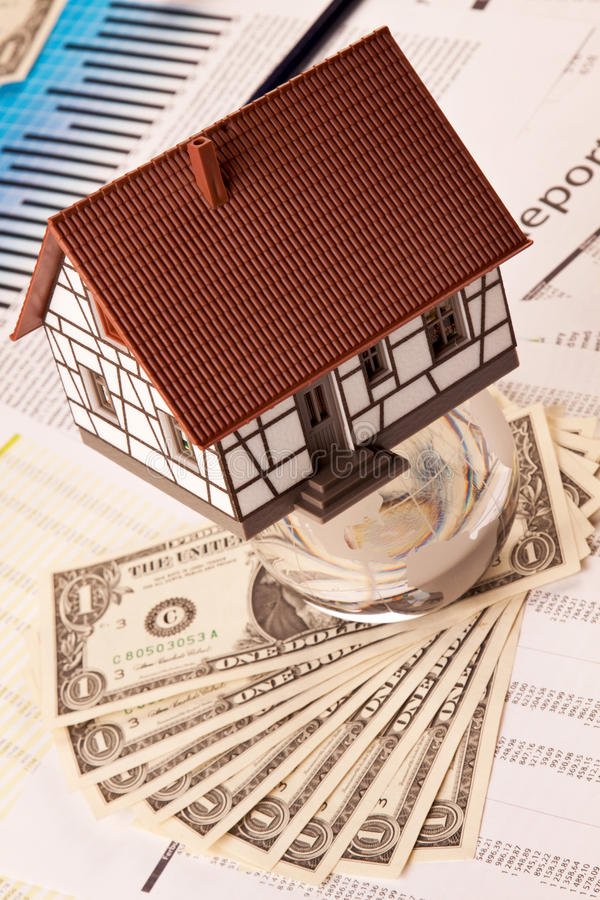 domowy wydatki zdjęcie stock