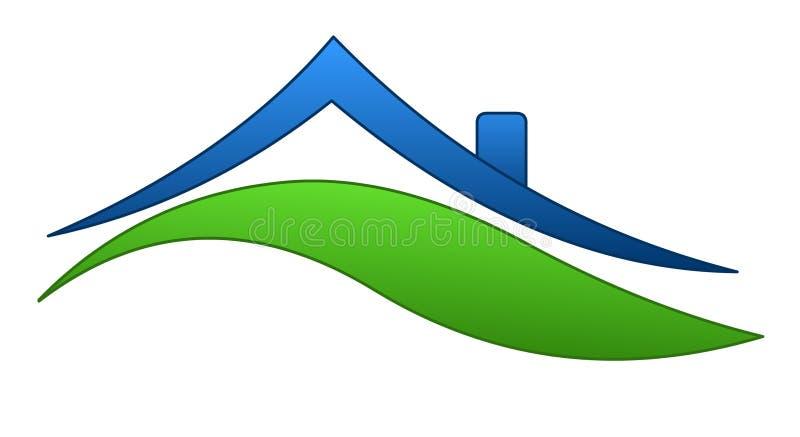 Download Domowy znak ilustracja wektor. Obraz złożonej z architektury - 13206246