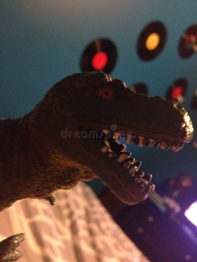 Domowy zwierzę domowe T rex obrazy royalty free