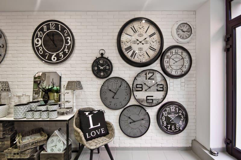 Domowych dekoracj sklepowy wnętrze obraz stock