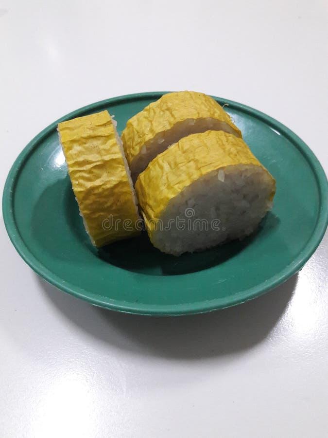 Dompu传统食物 库存照片