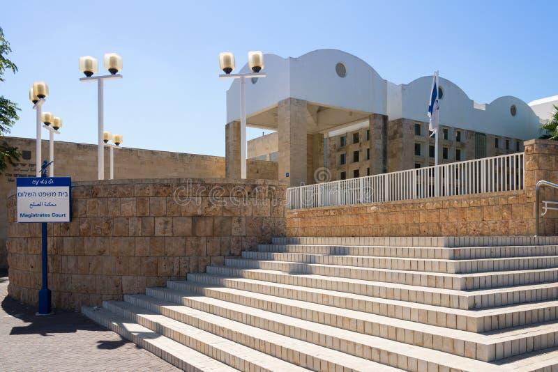 Domstol i Akko royaltyfri foto
