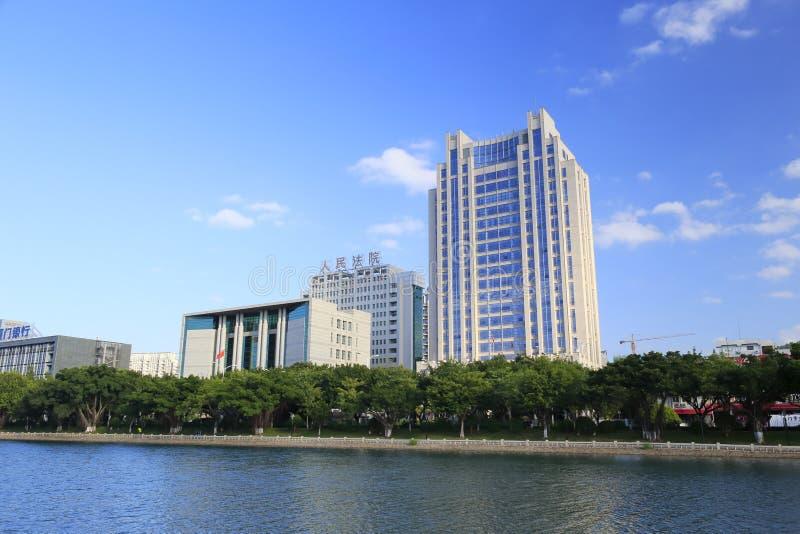 Domstol- och åklagarekontorsbyggnad royaltyfria foton