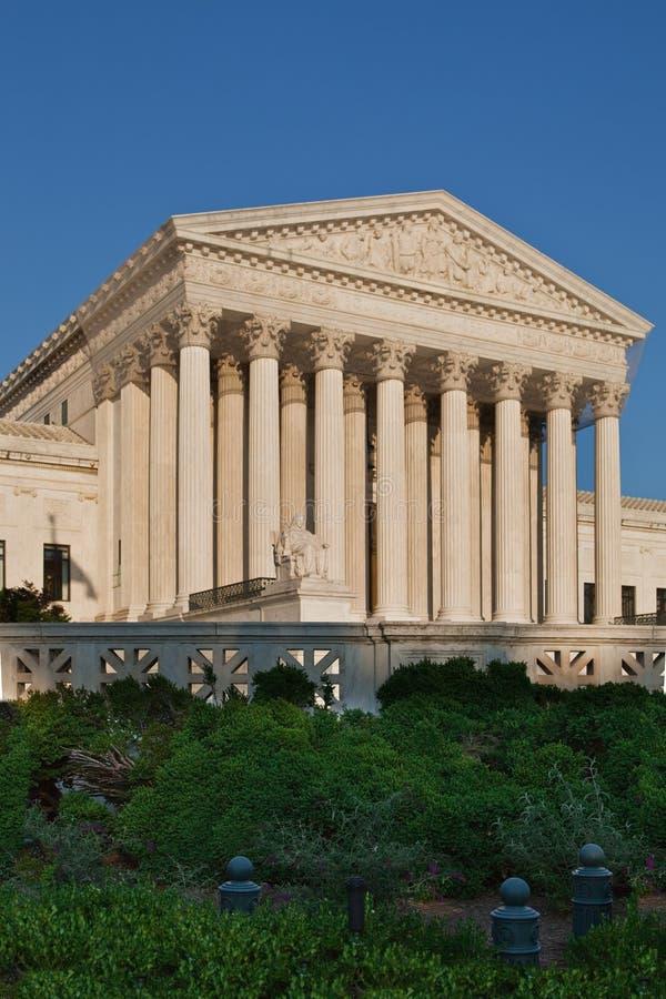 domstoldc suveräna washington fotografering för bildbyråer