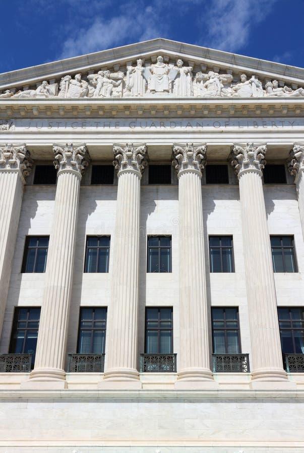 domstolen anger suveränt enigt royaltyfri foto