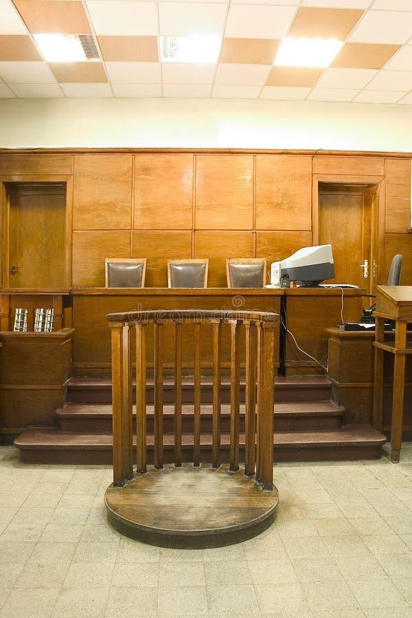 domstollokal royaltyfria foton