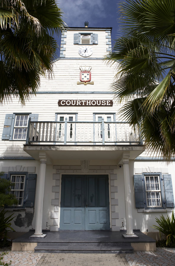 domstolsbyggnad royaltyfri fotografi