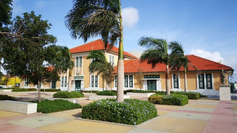 domstolsbyggnad royaltyfria bilder