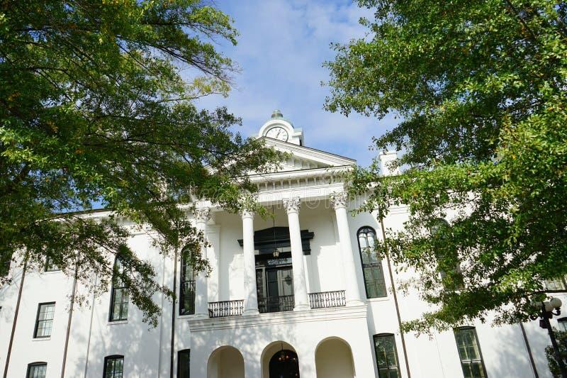 Domstolsbyggnad av oxford arkivfoto