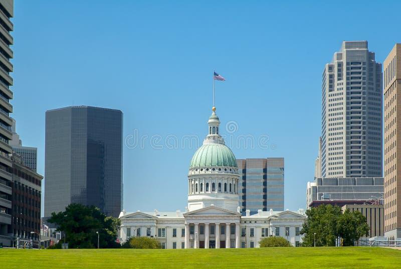 Domstolsbyggnad för St Louis County fotografering för bildbyråer
