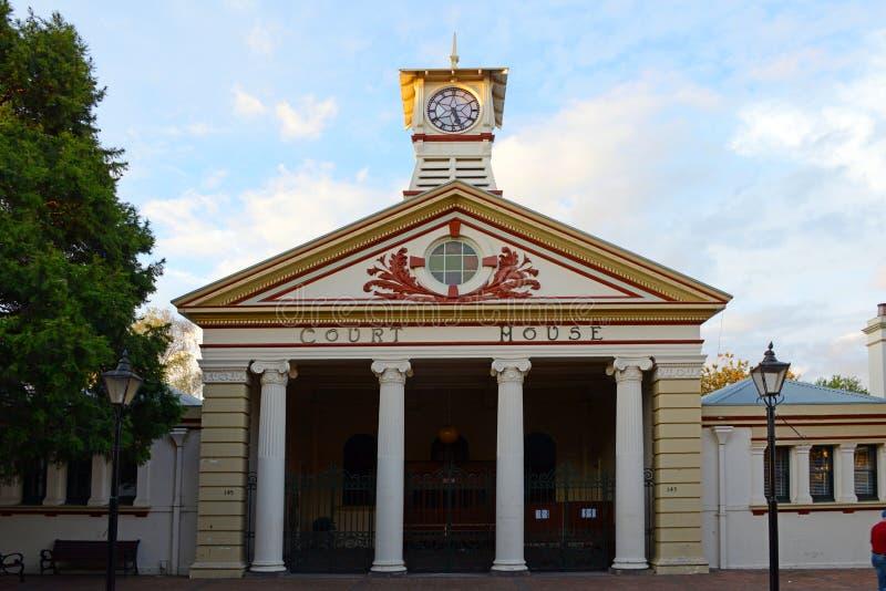 domstolsbyggnad royaltyfria foton