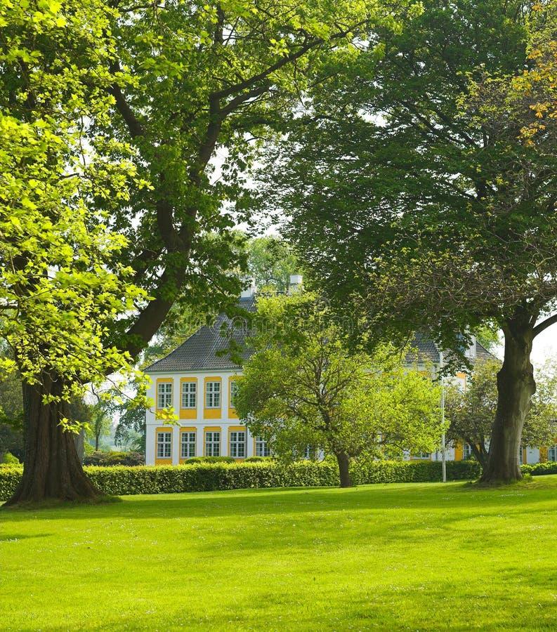 domu denmark manor stara zdjęcia royalty free