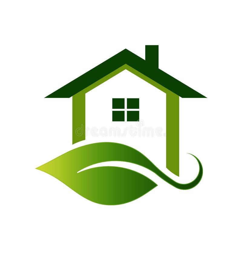 domu logo royalty ilustracja