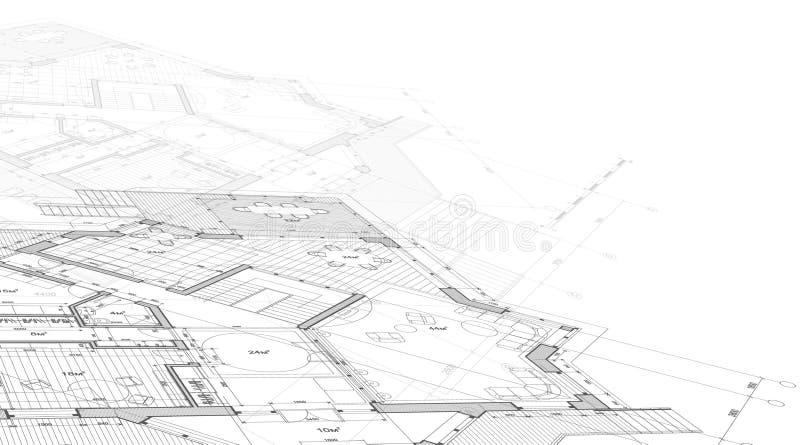 domu projektu planu ilustracji