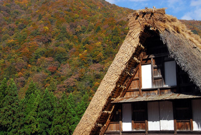 Domu wiejskiego szczegół fotografia stock