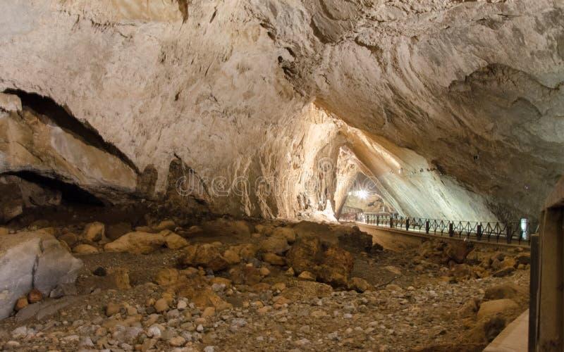 Domusnovas, Grotta di San Giovanni. City of Domusnovas, Grotta di San Giovanni royalty free stock image