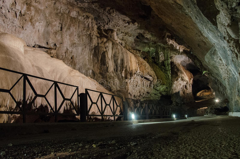 Domusnovas, Grotta di San Giovanni. City of Domusnovas, Grotta di San Giovanni stock image