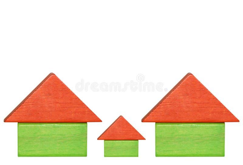 domy. zdjęcie stock