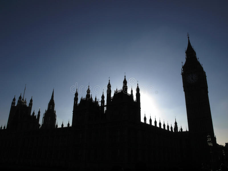Domy parlament obrazy royalty free