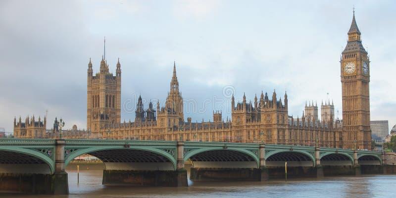 Domy parlament Londyn zdjęcie royalty free
