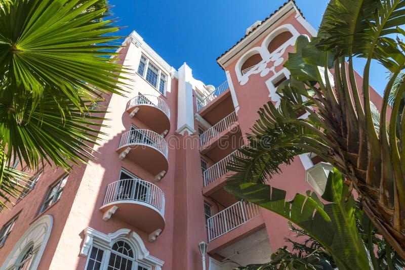 Don Cesar Hotel Architecture photo libre de droits