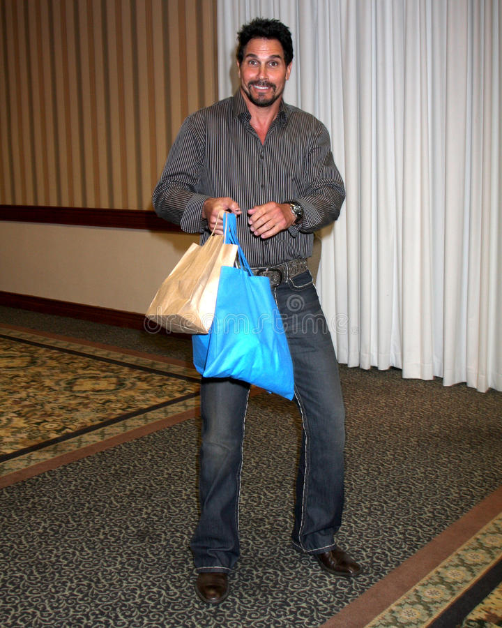 Don Diamont. At The Bold & The Beautiful Fan Club Luncheon at the Sheraton Universal Hotel in Los Angeles, CA on August 29, 2009 royalty free stock photography