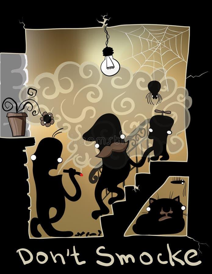 don dym t ilustracji