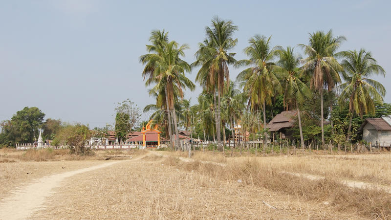 Don Khone Island, Laos, Azië royalty-vrije stock afbeeldingen