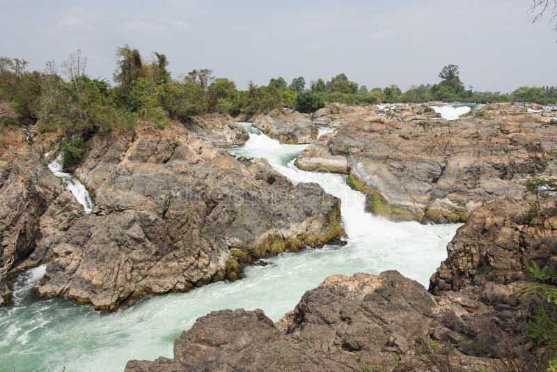 Don Khone Island, Laos, Azië stock afbeeldingen