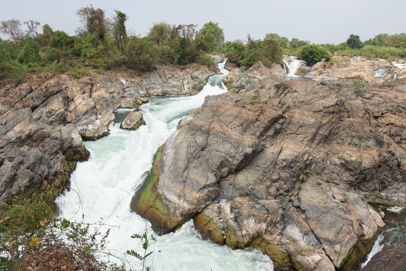 Don Khone wyspa, Laos, Azja zdjęcie royalty free