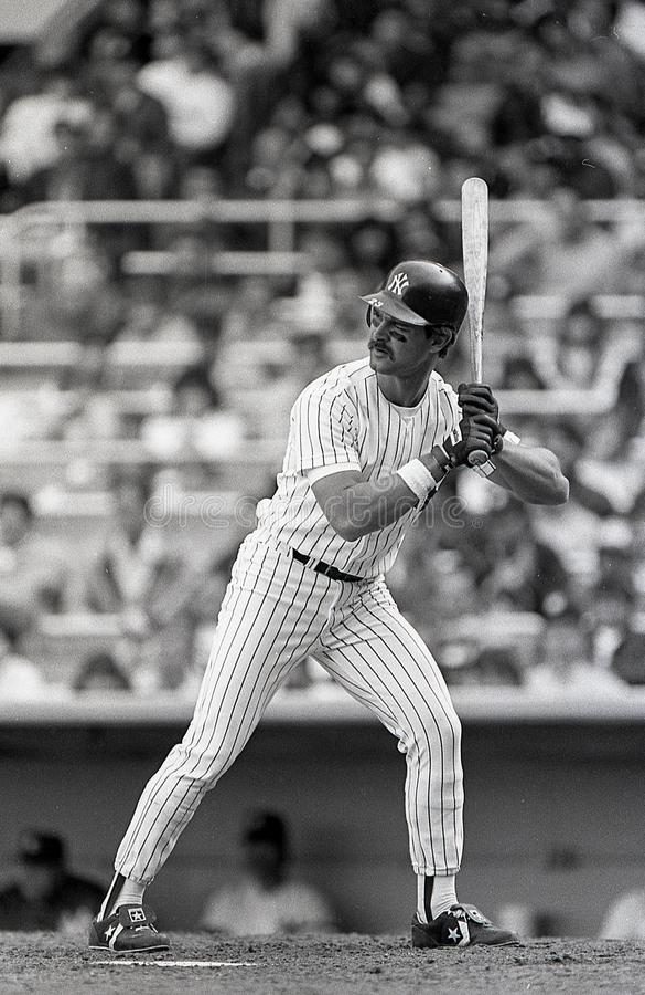 Don Mattingly New York Yankees royaltyfri bild