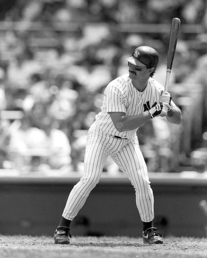 Don Mattingly, New York Yankees photographie stock libre de droits