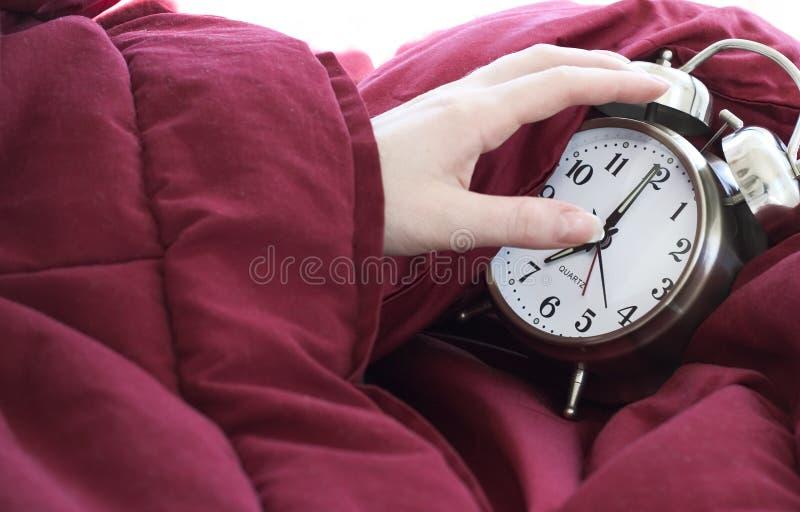 don nie chce się obudzisz fotografia stock