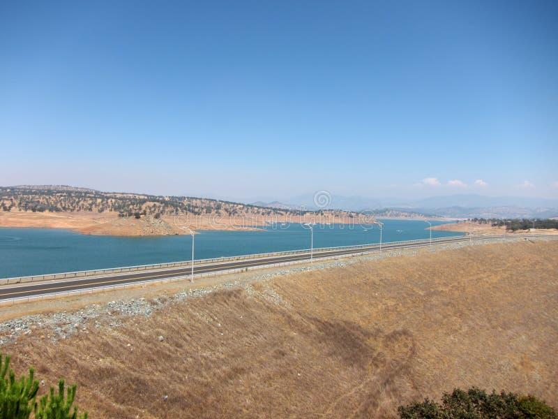 Don Pedro Reservoir, Californië royalty-vrije stock foto