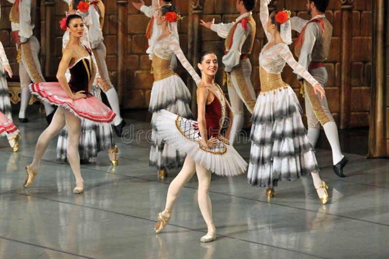 Don Quichotte-ballet royalty-vrije stock foto