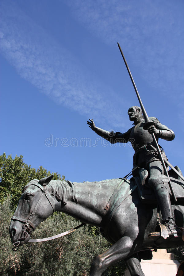 Download Don Quixote stock photo. Image of monument, knight, fictional - 11029276