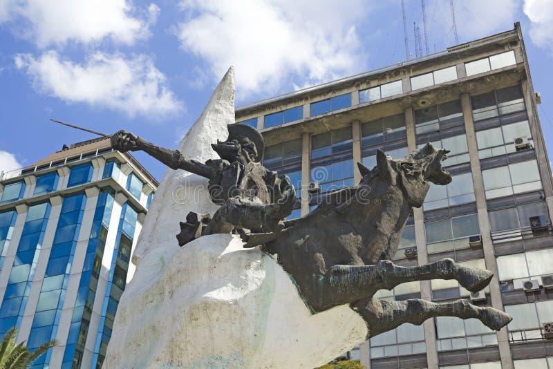 Don Quixote Buenos Aires, Argentina royaltyfri foto