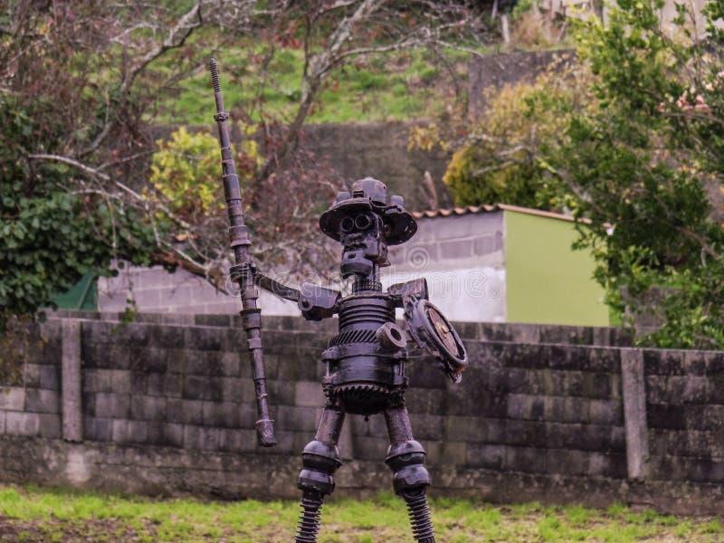 Don Quixote-gieterij royalty-vrije stock afbeeldingen