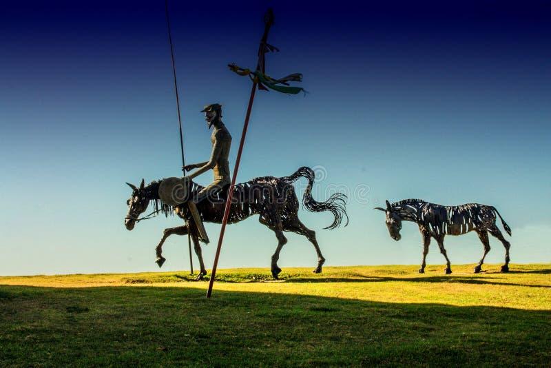 Don Quixote stock image