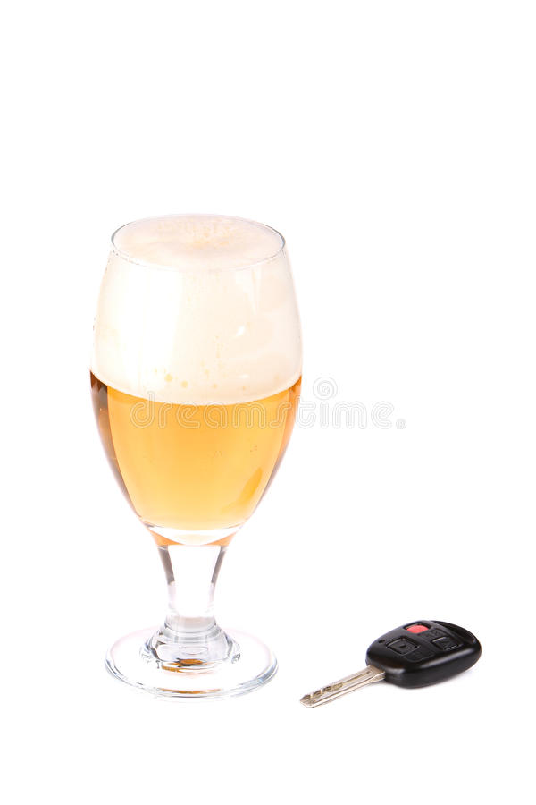 Don't Drink and Drive royalty free stock image
