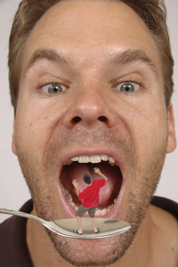 Download Don't eat me! stock photo. Image of shrunken, scared - 11383138