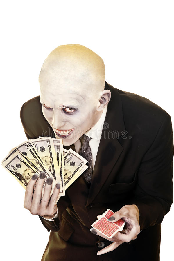 Don't gamble unless you know the facts royalty free stock image