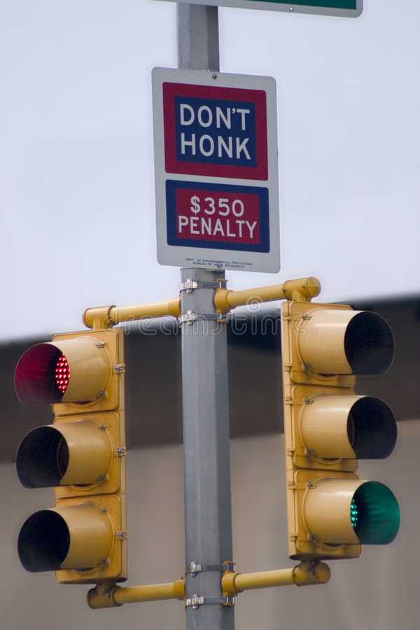 Don T Honk Royalty Free Stock Images