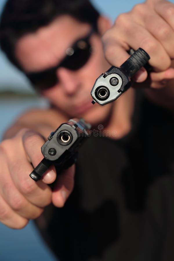 Don't Shoot 10 stock image