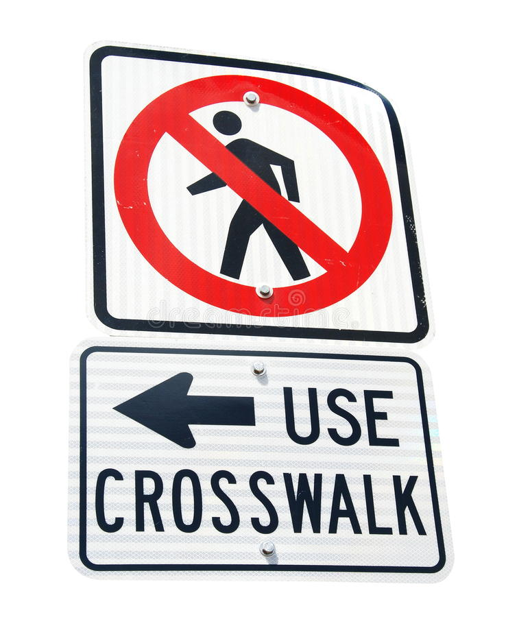 Don't Walk Sign. Close up Don't Walk Sign royalty free stock photo