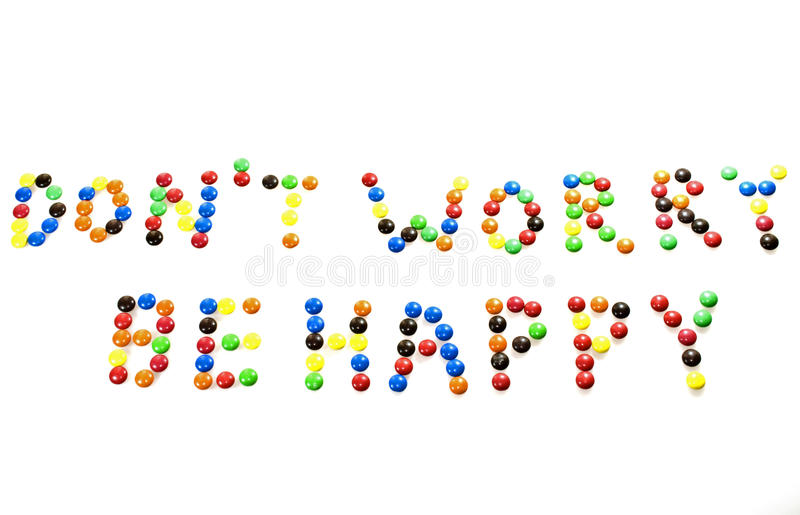 Download Don't worry, be happy stock photo. Image of treat, coated - 14577008