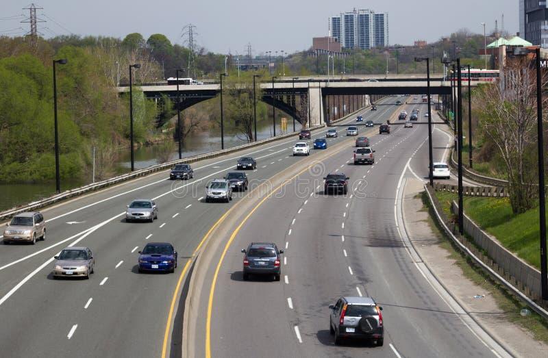 Don Valley Parkway imagen de archivo