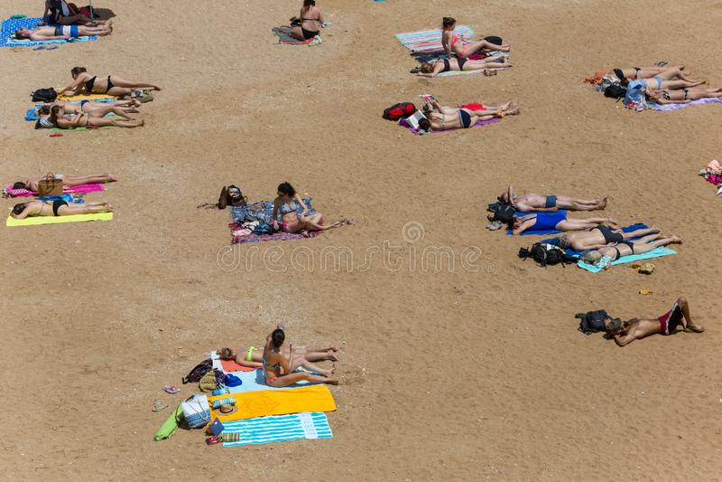 Dona Ana do Praia imagens de stock